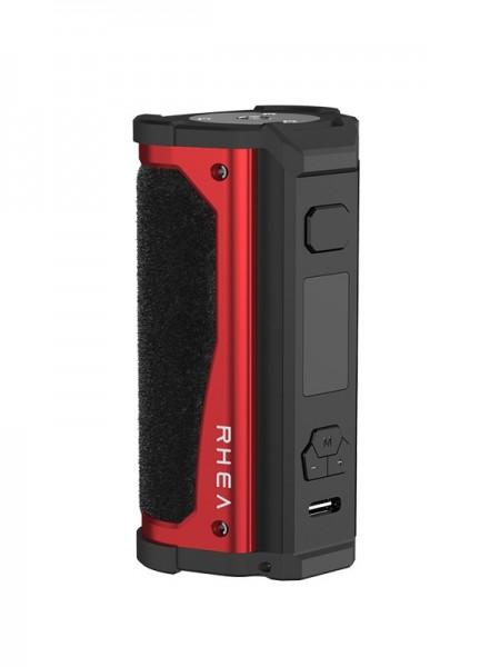 Aspire Mod Rhea 200 W Mod Black Alcantara Red Metal