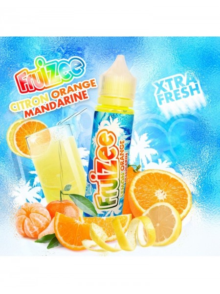 Eliquid France Fruizee Flavour Shot Lemon Orange Mandarine 60ml