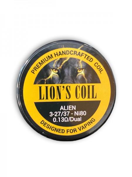 Lion's Premium Handcrafted Coil Alien 0.13ohm