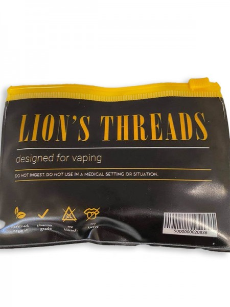 Lion's Threads Έτοιμα Οργανικά Βαμβάκια για Άτμισμα, 20τμχ