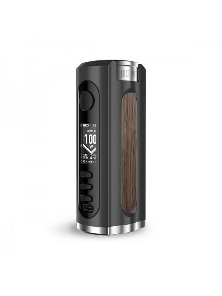 Lost Vape Grus 100W 21700 Box Mod Black Walnut Wood
