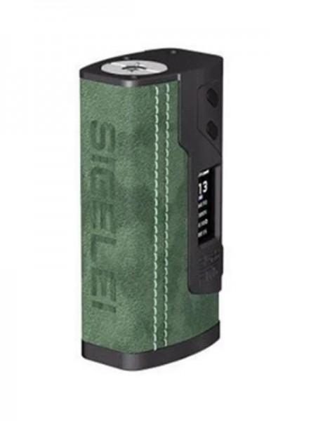 Sigelei Fog 213W TC Box Mod Leather Edition Green
