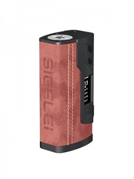 Sigelei Fog 213W TC Box Mod Leather Edition Wine Red