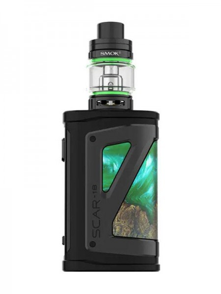 Smok Scar-18 Kit Green Stabilizing Wood