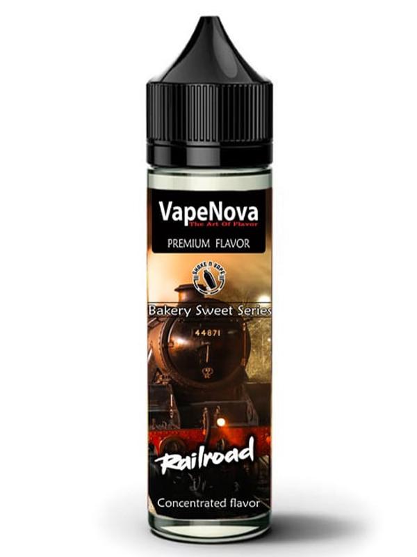 Vape Nova Railroad Flavorshot 100ml