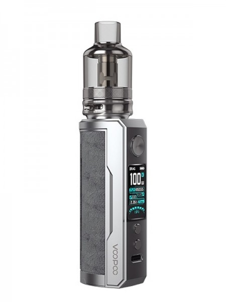VooPoo Drag X Plus Pod Mod Kit 100W Smokey Grey