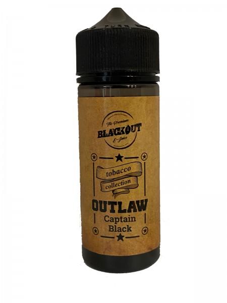 BLACKOUT Outlaw Flavor Shot Captain Black 120ml