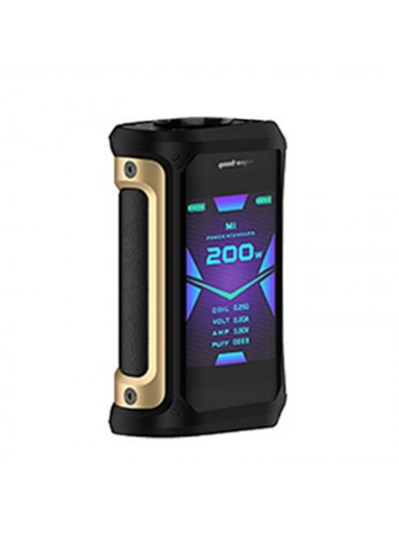 Geekvape Aegis X 200W TC Box Mod Gold & Black