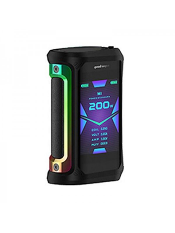 Geekvape Aegis X 200W TC Box Mod Rainbow & Black