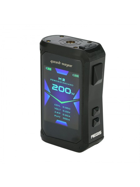 Geekvape Aegis X 200W TC Box Mod Stealth Black