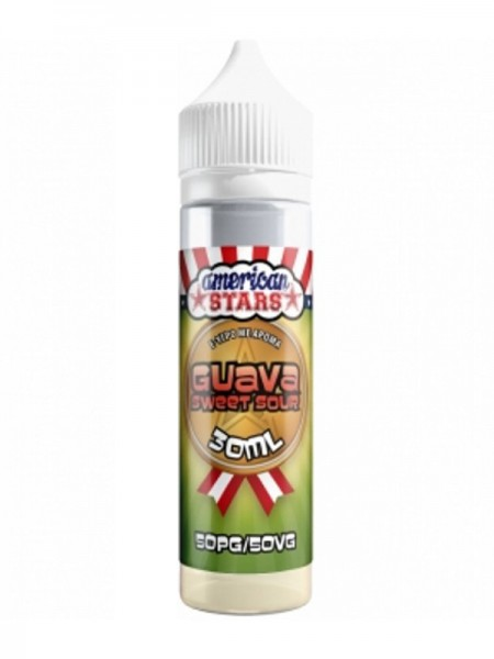 American Stars Flavour Shot Guava Sweet Sour 60ml