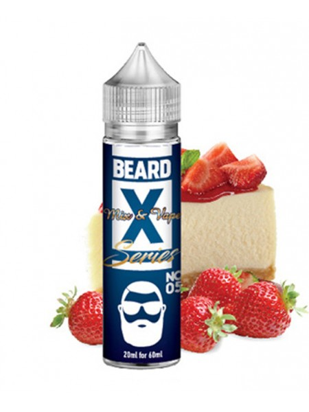 Beard Vape No05 Φράουλα Cheesecake 60ml