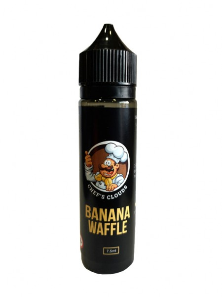 BLACKOUT Chef's Clouds Flavor Shot Banana Waffle 60ml