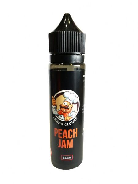 BLACKOUT Chef's Clouds Flavor Shot Peach Jam 60ml