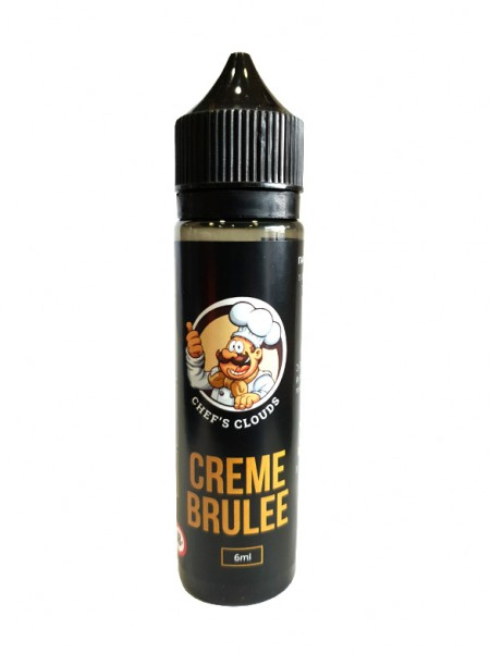 BLACKOUT Chef's Clouds Flavor Shot Creme Brulee 60ml