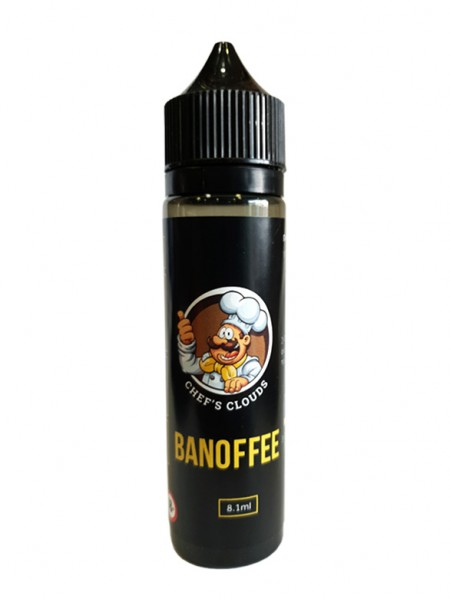 BLACKOUT Chef's Clouds Flavor Shot Banoffee 60ml