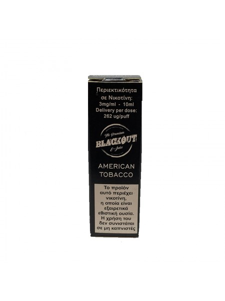 BLACKOUT American Tobacco 10ml