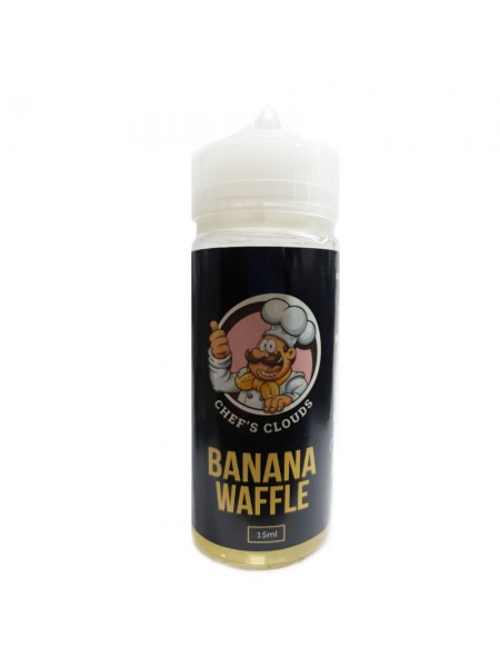 BLACKOUT Chef's Clouds Flavor Shot Banana Waffle 120ml