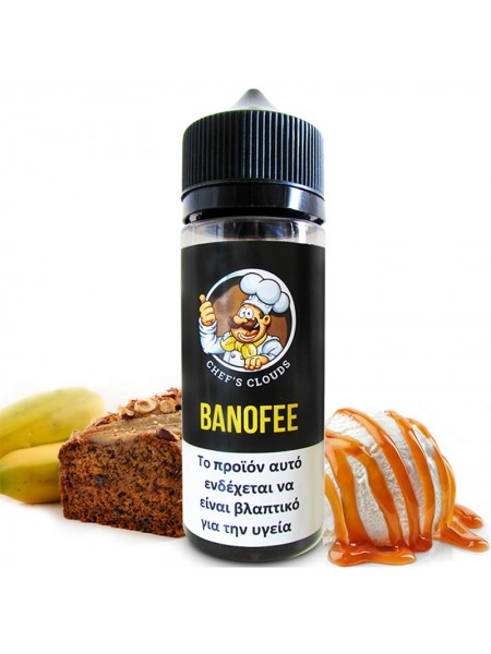 BLACKOUT Chef's Clouds Flavor Shot Banoffee 120ml