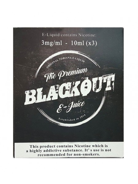 BLACKOUT America Tobacco 3x10ml