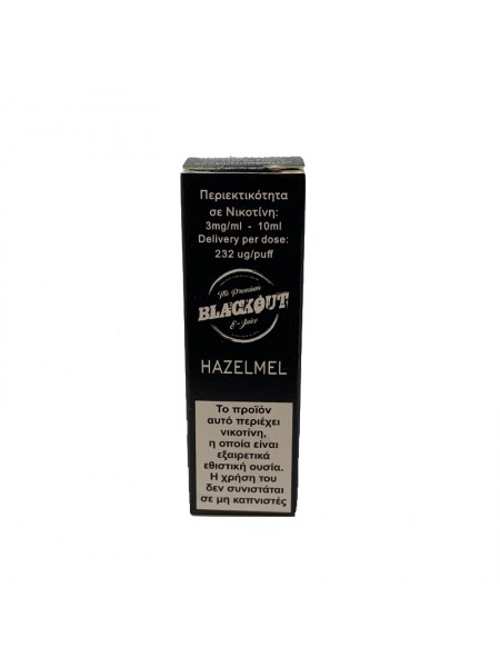 BLACKOUT Hazelmel 10ml