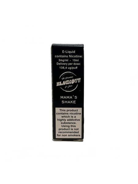 BLACKOUT Mama's Shake 10ml
