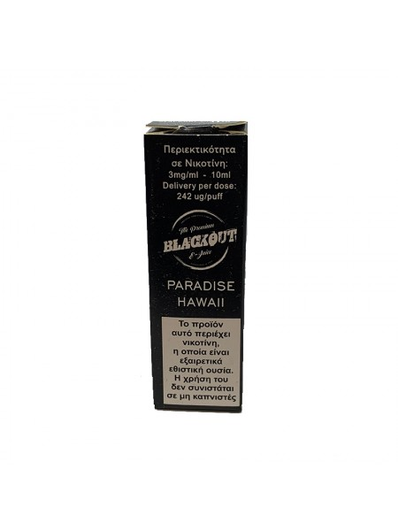 BLACKOUT Paradise Hawaii 10ml