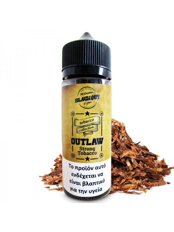 BLACKOUT Outlaw Flavor Shot Strong Tobacco 120ml