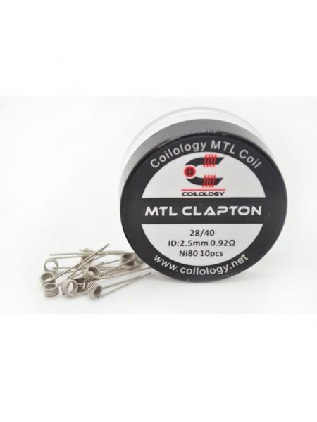 Coilology MTL Clapton Ni80 0,92Ω