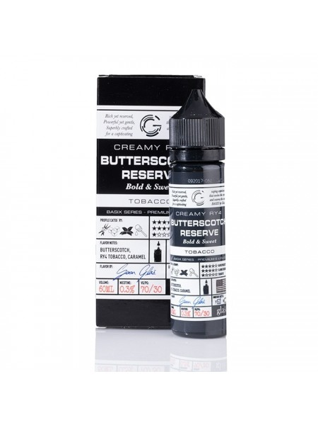 Glas Basic Series Butterscotch Reserve 60ml