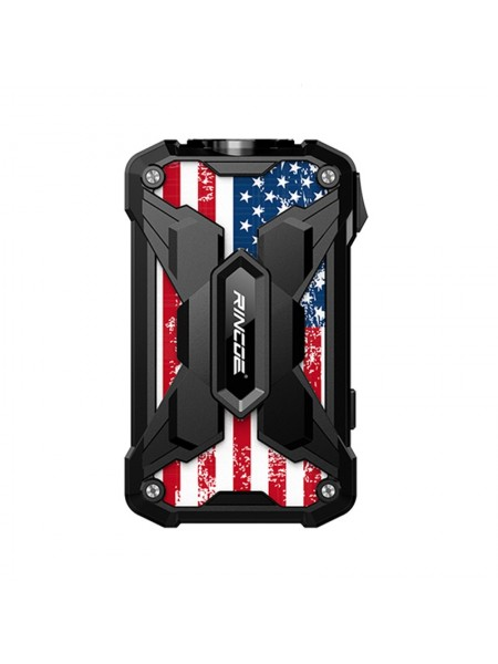 Rincoe Mechman 228W TC Mod Steel Wings Usa Flag
