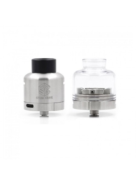 Steam Crave Glaz Rdsa V1.1 Stainless Steel