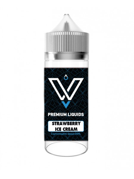 VNV Strawberry Ice-cream 120ml