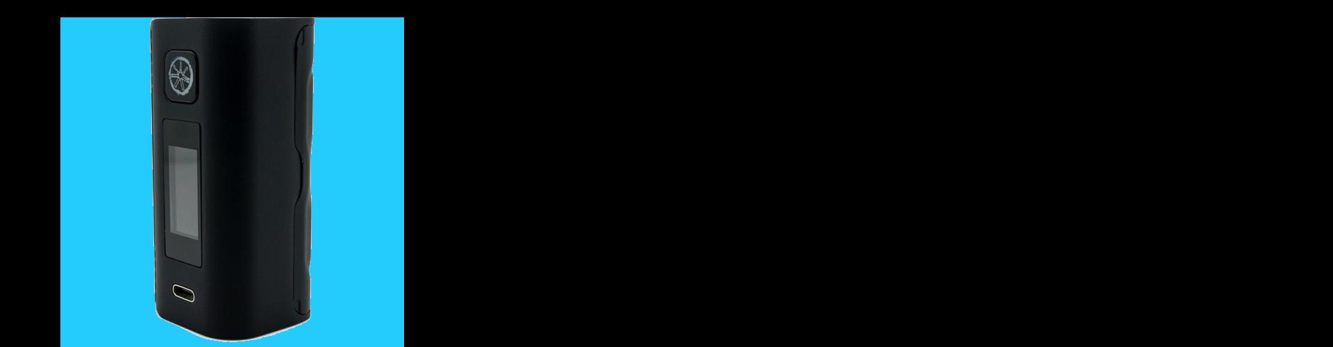 ASMODUS LUSTRO 200W BLACK